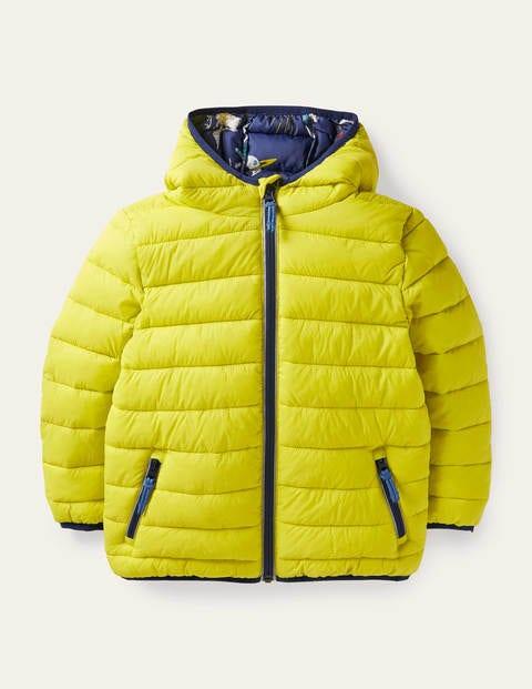 Cosy Pack-away Padded Jacket - Maximillion Yellow