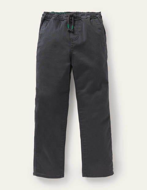 Pantalon slim décontracté à enfiler