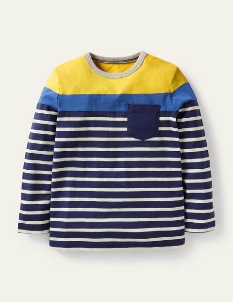 Colourblock Breton T-Shirt