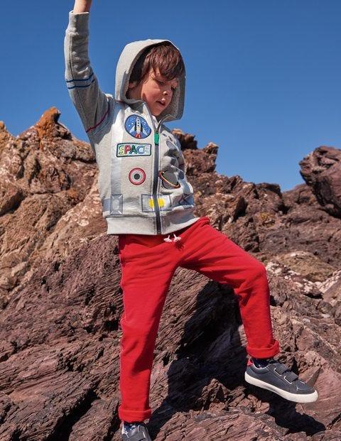 T-shirt à motif fusée lumineux - Navette spatiale rouge fusée