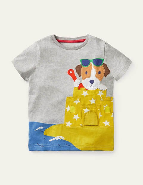 Lift-the-flap Beach T-Shirt