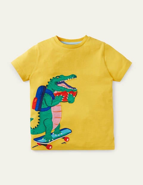 Appliqué Dude T-shirt