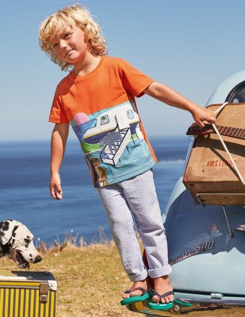 Lift-the-flap Travel T-shirt