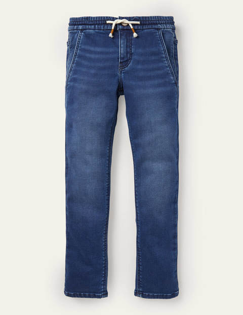 Jean skinny en jersey