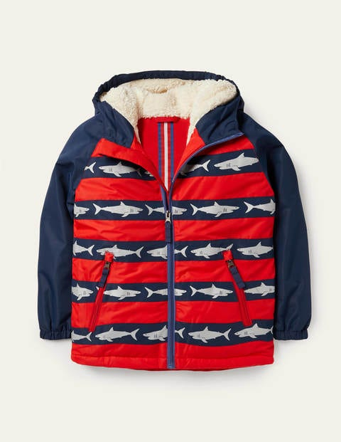 Cosy Sherpa-lined Anorak