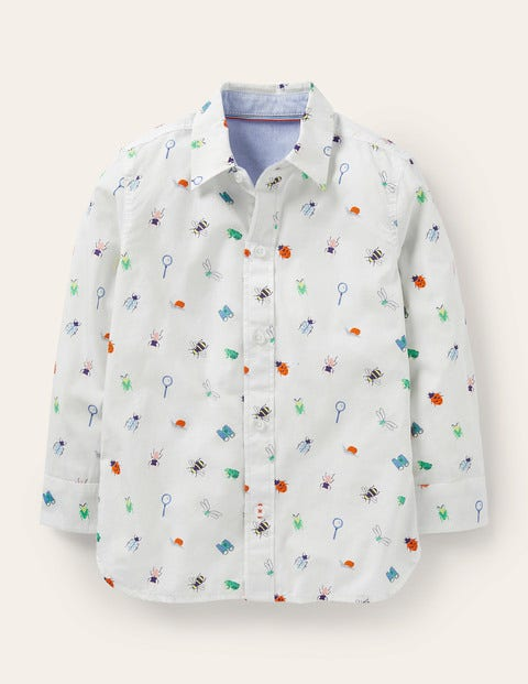 Printed Laundered Shirt