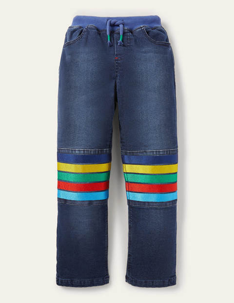 Cosy Lined Denim Trousers