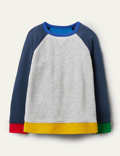 Cosy Sweatshirt - Oatmeal Marl/Starboard