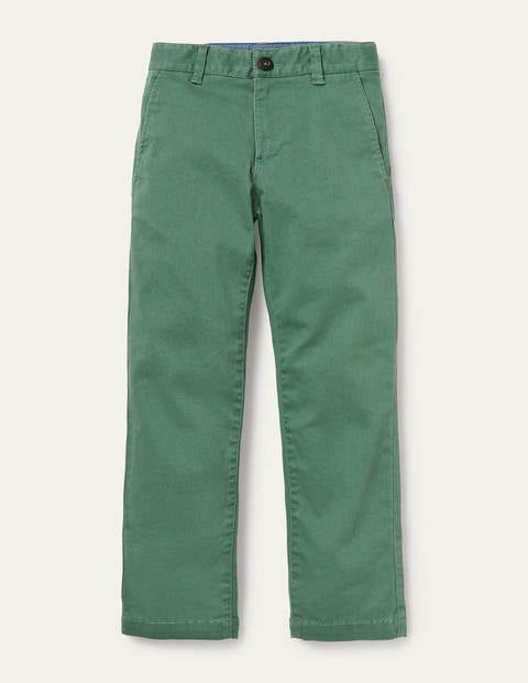 Chino Stretch Trousers - Rosemary Green