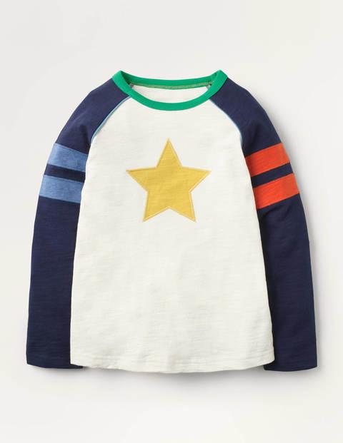 T-shirt manches raglan - Ivory Star