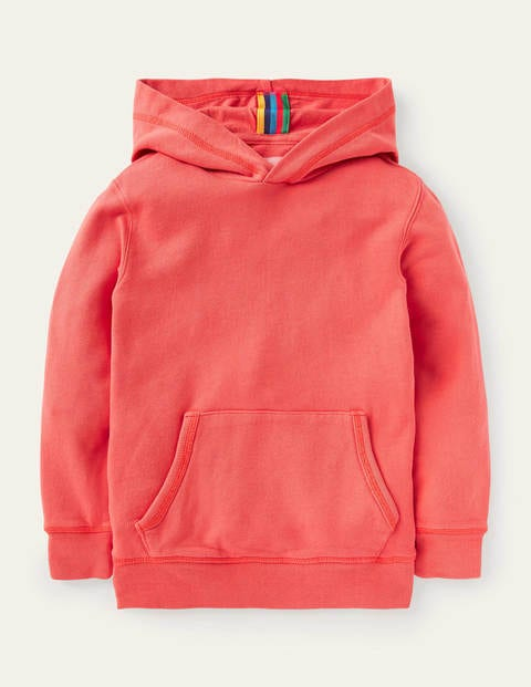 Garment-dyed Hoodie - Guava Red