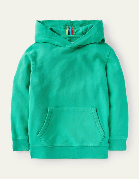 Garment-dyed Hoodie - Tropical Green