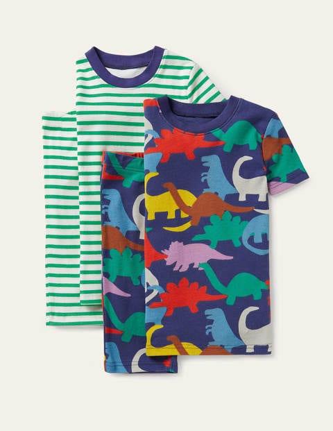 Cosy Twin Pack Short Pyjamas