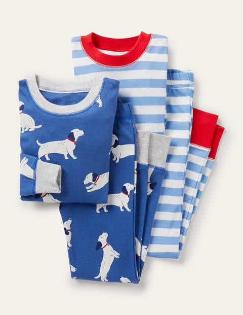 Cosy Twin Pack Long Pajamas
