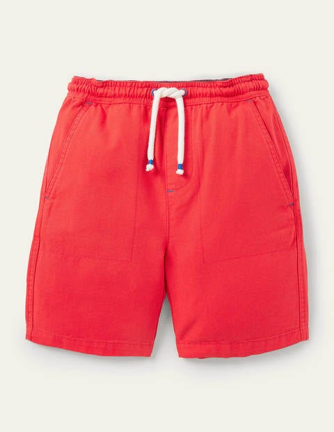 Pull-on Drawstring Shorts