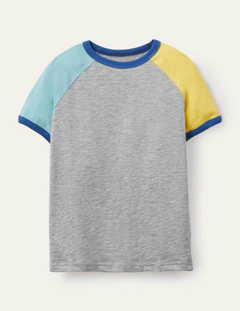 Raglan-T-Shirt in Blockfarben GRY Boden Boden, GRY