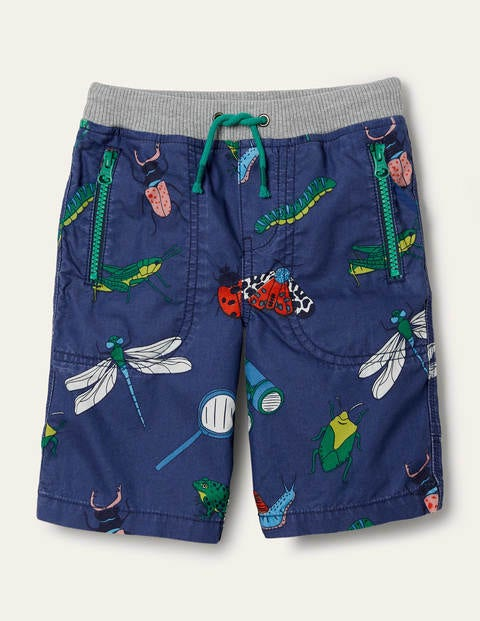 Adventure Shorts - Starboard Blue Bugs