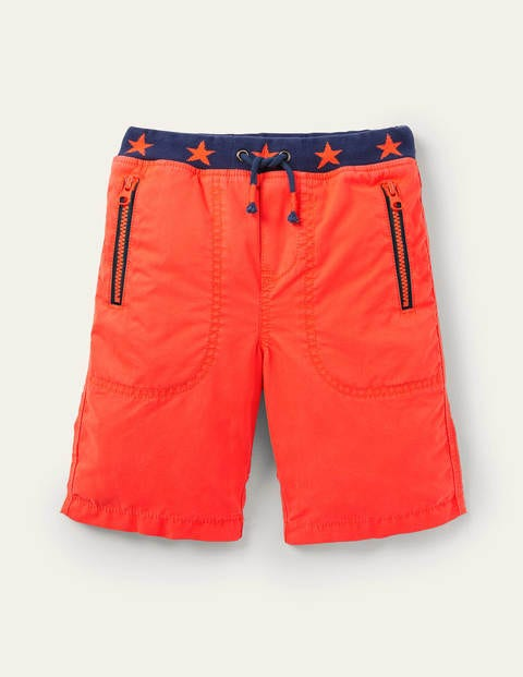 Adventure Shorts - Firecracker Orange