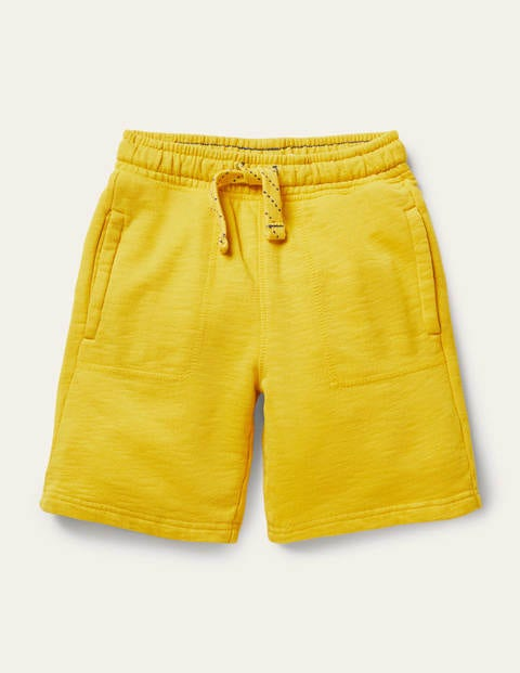 Garment-dyed Sweatshorts - Daffodil Yellow