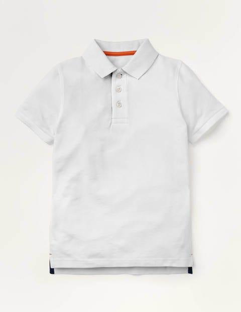Piqué Polo Shirt - Cotton White