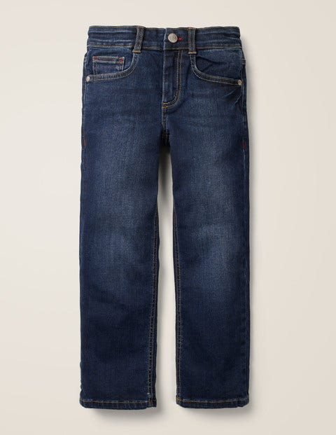 Jeans mit geradem Bein und Adventure-Flex - Dunkles Vintageblau