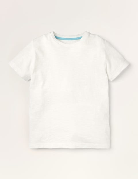 Slub Washed T-shirt - White