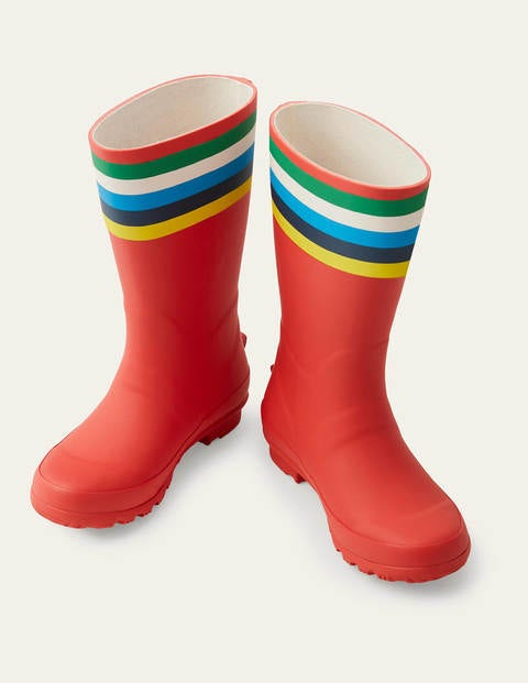 Wellies - Fire Red
