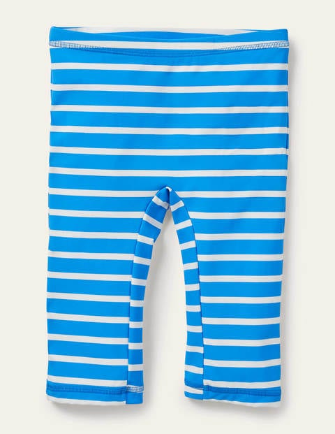 Sun-safe Shorts - Blue/White
