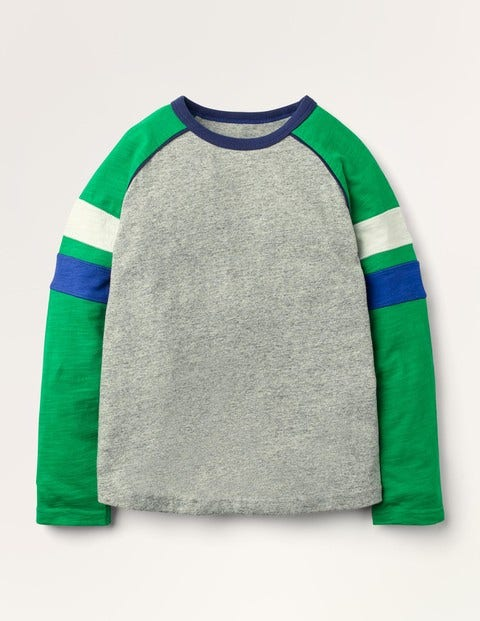 T-shirt manches raglan - Grey Marl