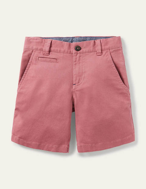 Short chino - Rose baie délavé