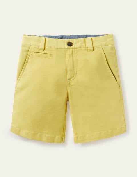 Short chino - Jaune ananas