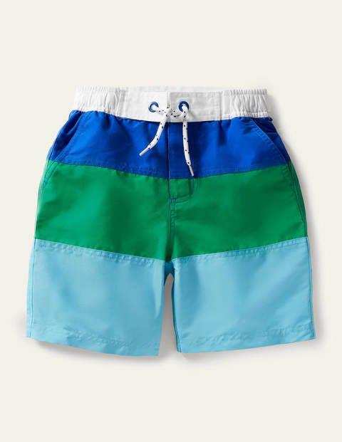 Board Shorts - Aqua Blue/Sapling Green