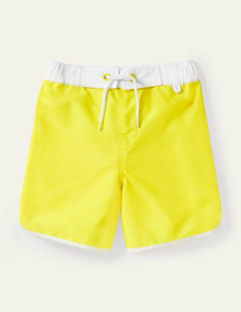 Short de surf - Jaune tournesol
