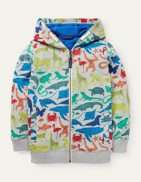 Animal Zip-up Hoodie