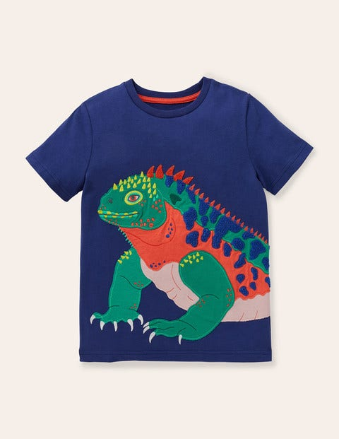 Exotic Animal Appliqué T-shirt