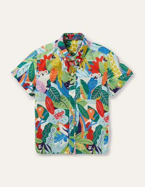 Holiday Shirt - Multi Jungle