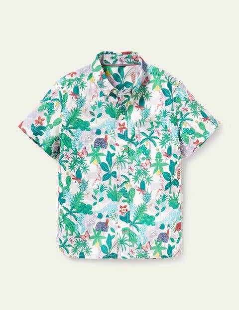 Holiday Shirt - Ivory Darwin Island