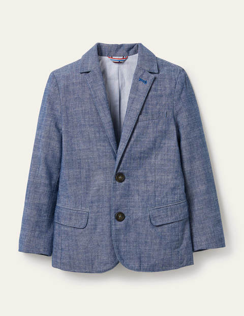 Smart Blazer - Chambray Blue