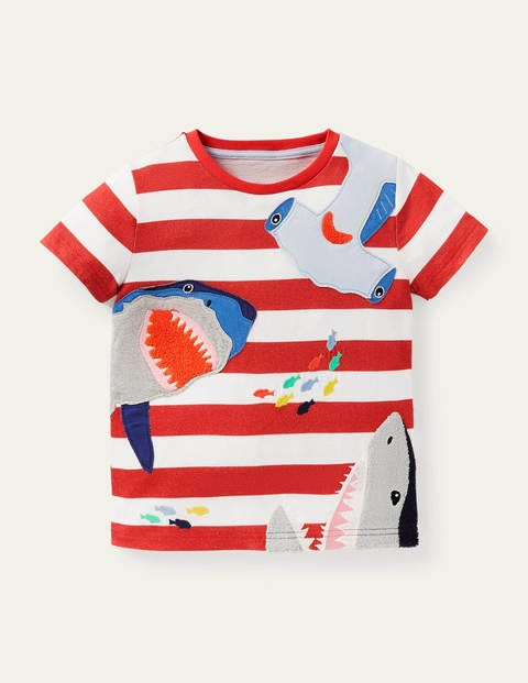 Sea Animals Appliqué T-shirt