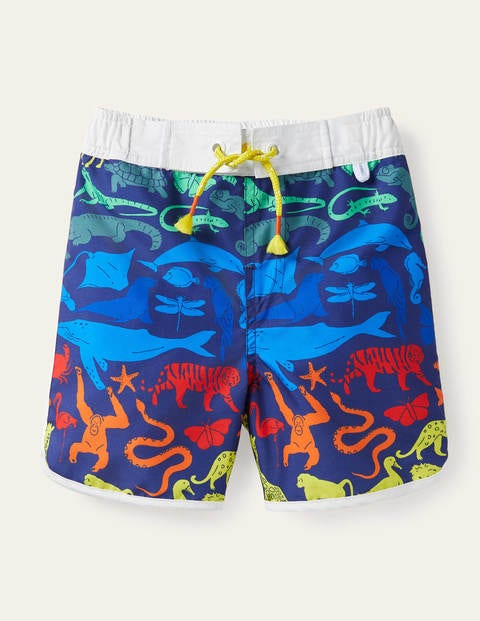 Short de surf imprimé