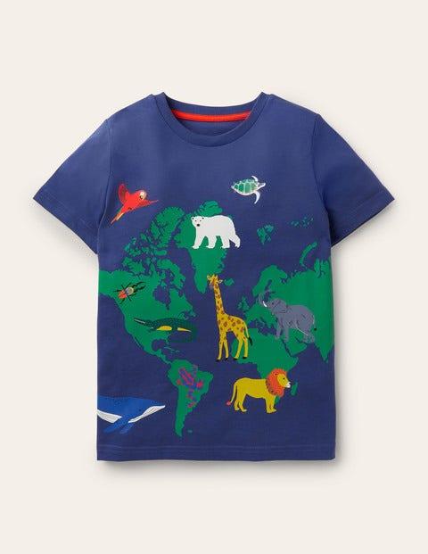 Wild Animal Map T-Shirt