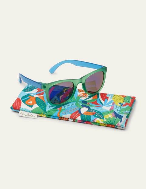 Sunglasses - Iguana Green/Blue