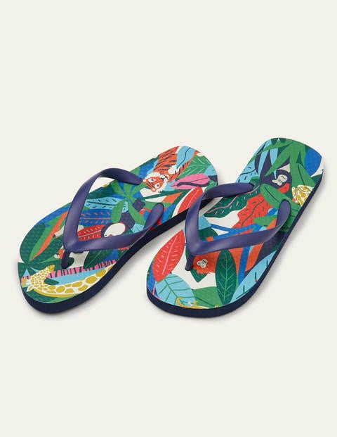 Tongs - Motif jungle multi