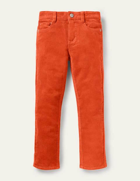 Schmal geschnittene Cord-Jeans mit Stretch