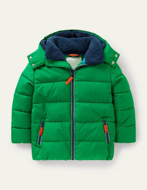 Shower-Resistant Padded Jacket