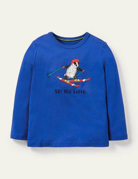T-shirt graphique à motif animal
