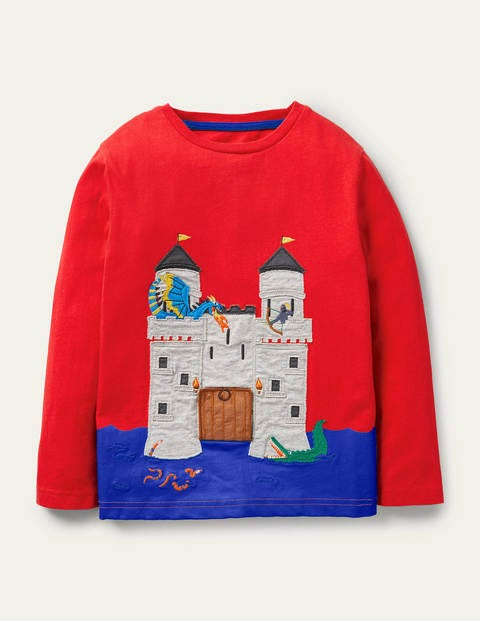 Lift-the-flap Medieval T-shirt