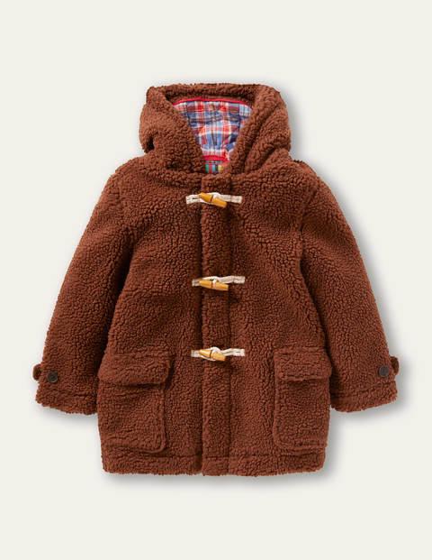 Borg Teddy Bear Duffle Coat