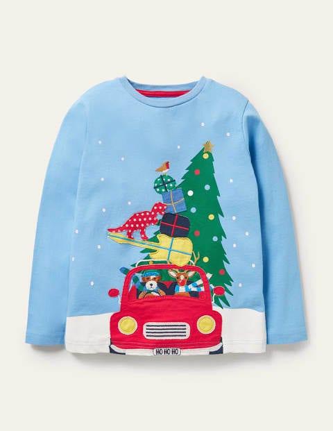 Festive Appliqué T-shirt