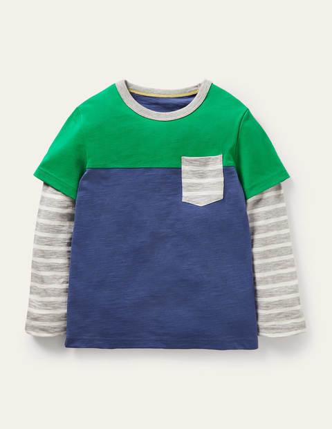 Colourblock Layered T-shirt